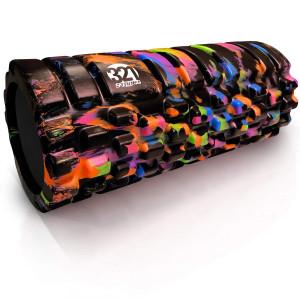 321 STRONG Foam Roller - Medium Density Deep Tissue Massager - Muscle Massage + Myofascial Trigger Point Release - Includes 4K eBook