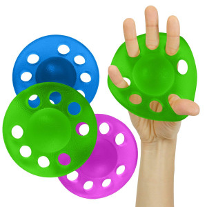 Vive Finger Strengthener - Therapy Hand Exercise Stretcher Balls - Grip Extension Exerciser for Arthritis, Carpal Tunnel, Forearm Muscle Strength Band Guitar, Rock Climbing Resistance Strengthening