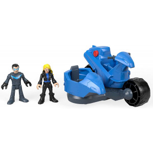 Fisher-Price Imaginext DC Super Friends, Nightwing and Transforming Cycle