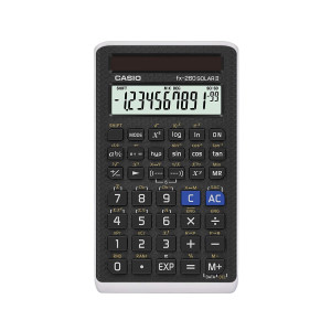 "Casio Scientific Calculator Black, 3"" W x 5"" H, 2.25 (FX-260 SOLARII-S-IH)"