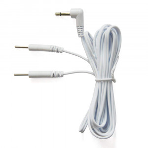 Discount TENS - Omron Compatible Lead Wires. Replacement Lead Wires for Omron Electrotherapy Devices. (PM3030, 2 Pin)