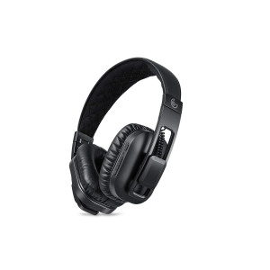 Bluetooth Headphones Over Ear with Mic, GEG AptX Foldable Wireless Headset with Noise Reduction-black