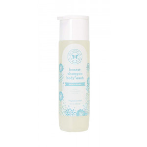 The Honest Company Purely Simple Shampoo and Body Wash, Fragrance Free, 10 Fluid Ounce