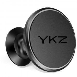 YKZ Dashboard Magnetic Car Mount Phone Holder for Cell Phones, iPhone 7/6/5 Galaxy S7/S6 or GPS,Black