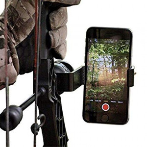Homelix Smartphone Camera Bow Phone Mount for Use with Iphone,samsung,gopro, and More