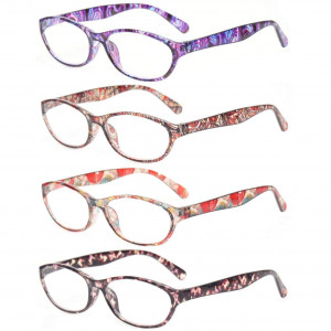Reading Glasses Eyeglasses With Floral Design Fashion Readers for Women