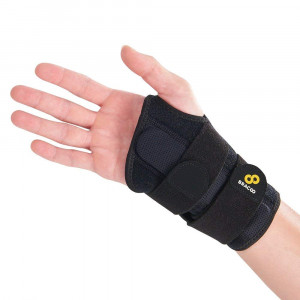 Bracoo Wrist Brace, Reversible Hand Splint for Carpal Tunnel, Wrist Pain and Sport Injury- Adjustable, Customized Fit and Comfortable Padded Lining, Guardian (WB30), 1 Count