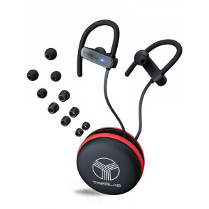 TREBLAB XR800 Bluetooth Headphones, Best Wireless Earbuds for Sports, Running, Gym Workouts. 2018 Best Model. IPX7 Water Resistant, Sweatproof, Secure-Fit. Noise Cancelling Earphones w/Mic (Graphite)
