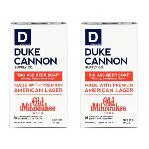 Duke Cannon Big Ass Beer Soap, 10 oz. (Pack of 2)