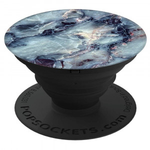 PopSockets: Collapsible Grip and Stand for Phones and Tablets - Blue Marble