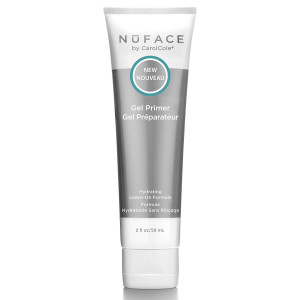 NuFACE Hydrating Leave-On Gel Primer   Use with NuFACE Device   Smooths Skin, Reduce Wrinkles   Lightweight Application   2 fl. oz.