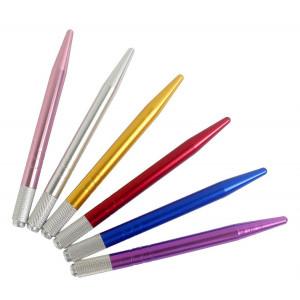 Xiaoyu 6PCS Manual Tattoo Microblading Pen Tattoo Machine Eyebrow Microblading Pens for Permanent Makeup Tattoo Supplies - Style1