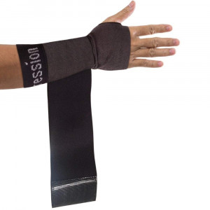 Copper Compression Recovery Wrist Sleeve with Adjustable Wrap for Extra Support. Guaranteed Highest Copper Wrist Brace. Carpal Tunnel, RSI, Sprains, Workout (1 Sleeve Medium - Fits Either Hand)