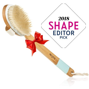 Dry Brushing Body Brush - Exfoliating Brush for Skin Care - Best for Massage, Dry Skin, Removing Dead Skin, Lymphatic Drainage, and Cellulite Treatment. Achieve Healthy Skin Today!