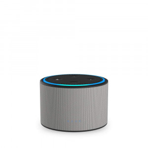 Ninety7 DOX Portable Battery Base for Amazon Echo Dot Ash/Gray