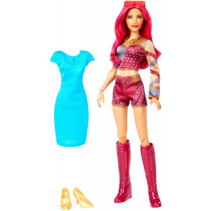WWE Superstars Sasha Banks Doll and Fashion