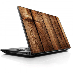 """15 15.6 inch Laptop Notebook Skin vinyl Sticker Cover Decal Fits 13.3"""" 14"""" 15.6"""" 16"""" HP Lenovo Apple Mac Dell Compaq Asus Acer/Wood Panels Cherry Oak"""