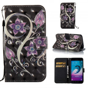 Galaxy J3 2016/J3/J310 Case,Durable PU Leather Wallet Cover Lightweight Full Protective Case Shockproof and Scratch Resistance Case with Credit Card Slot for Samsung Galaxy J3 2016/J3/J310
