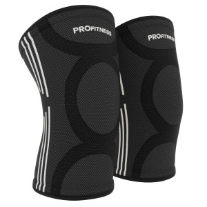 ProFitness Knee Sleeves (One Pair) Knee Support for Joint Pain and Arthritis Pain Relief  Effective Support for Running, Pain Management, Arthritis Pain, Post Surgery Recovery