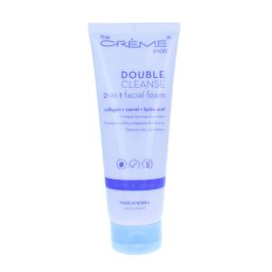 The Crme Shop - Double Cleanse 2-in-1 facial foam: Collagen + Carrot + Lactic Acid