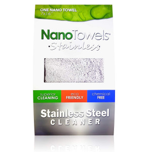 """Nano Towels Stainless Steel Cleaner 