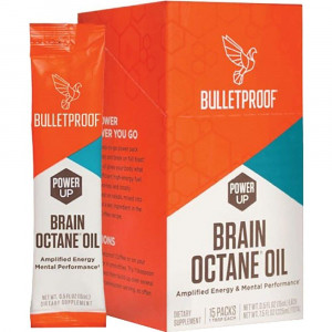 BULLETPROOF Brain Octane Oil, 15 Count
