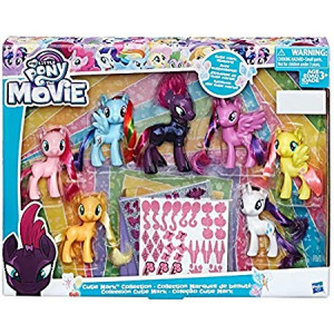 My Little Pony The Movie Exclusive Cutie Mark Collection