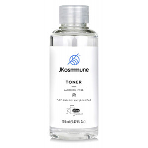 JKosmmune Toner, Alcohol-Free, Formulated with Beta Glucan - Helps Refresh and Brighten Skin - (5.07 Fl. Oz)