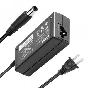 QYD 65W PowerFast Compatible with Laptop-Charger HP Pavilion G4 G6 G7 DV3 DV4 DV5 DV7 DM4 N17908 NC6400 NC2400 NC4400 NC6320 DV7-2185DX NW8440 NW9440 NX6310 NX6315 NX7300,3.94ft DC Adapter Cable