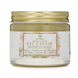 Rejuvenating Eye Cream (2oz.) Extra Nourishing and Moisturizing USDA Organic Anti Aging Eye Treatment Balm for Dark Circles, Under Eye Bags, Puffiness and Wrinkles with Jojoba Oil, Argan Oil and More