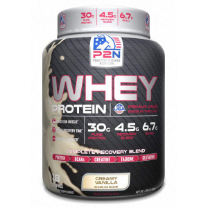 P2N Peak Performance Nutrition P2N Whey Protein, Vanilla, 2 Pound