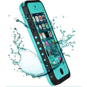 iPhone X Waterproof Case NIUJNE Slim Full Body Shockproof Dirtproof Snowproof Protection Case Cover Only for Apple iPhone X (blue)