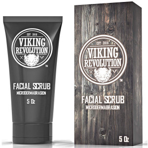 Microdermabrasion Face Scrub for Men - Facial Cleanser for Skin Exfoliating, Deep Cleansing, Removing Blackheads, Acne, Ingrown Hairs - Men's Face Scrub for Pre-Shave (1 Pack)
