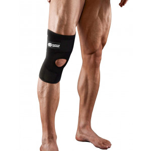 Copper Compression Extra Support Knee Brace. Highest Copper Content Guaranteed. Best Adjustable Copper Infused Fit Knee Brace. Open Patella Stabilizer Neoprene Sleeve for Sprains and Injury Recovery