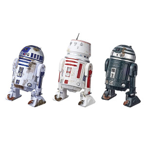 Star Wars The Black Series Episode IV: A New Hope R2-D2 (Red Squadron) Droid Figure 3-Pack  Collectible/Fan 6-Inch-Scale Episode IV Droid Figures