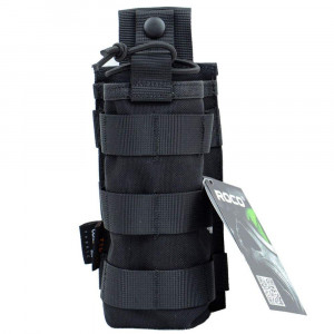 Tactical Radio Pouch - 1000D Tactical Molle Two Way Radios Holder Case For Walkie Talkies