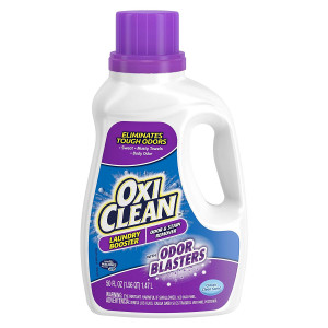OxiClean Odor Blasters Odor and Stain Remover Laundry Booster, 50 oz.