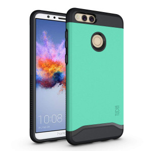 Honor 7X / Mate SE Case, TUDIA Slim-Fit Heavy Duty [Merge] Extreme Protection/Rugged but Slim Dual Layer Case for Huawei Honor 7X / Mate SE (Mint)