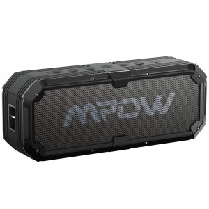 Mpow Bass Bluetooth Speaker, Portable Indoor Outdoor Wireless Speaker Bluetooth with Adjustable EQ Function, 8-Watts, IPX5 Water-Resistant, 22-Hour Playtime for Party, Beach, Shower, Camping, Hiking