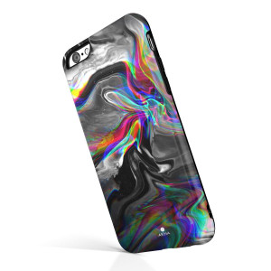 iPhone 6/6s case Marble, Akna Collection High Impact Flexible Silicon Case Both iPhone 6 and iPhone 6s [Dreaming Marble] (891-U.S)