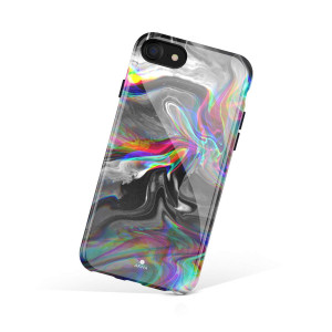 iPhone 8 and iPhone 7 case Marble, Akna Collection Flexible Silicon Cover for Both iPhone 8 and iPhone 7 [Dreaming Marble] (893-U.S)