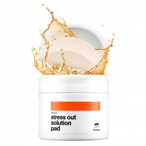 [BELLAMONSTER] Stress Out Solution Pad 155ml 70ea, Carrot Seed Oil Peeling Pad