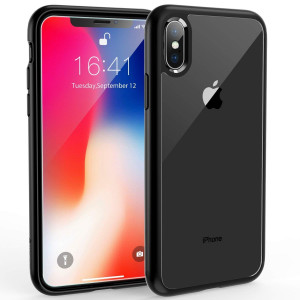 Syncwire UltraRock iPhone X Case, iPhone X Protective Cover with Advanced Drop Protection and Air Cushion Safeguard Technology for Apple iPhone X/10 (2017) - Matte Black