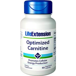 Life Extension Optimized Carnitine, 60 Vegetarian Capsules