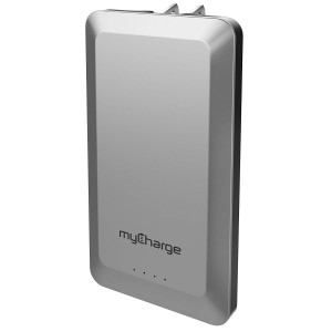 myCharge HomeandGo Portable Charger 4,000mAh External Battery Pack Power Bank Foldable Wall Plug for Cell Phones (Apple iPhone XS, XS Max, XR, X, 8, 7, 6, SE, 5, Samsung Galaxy, LG, Motorola, HTC)