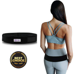 "Everyday Medical Sacroiliac SI Joint Support Belt For Pelvic and SI Pain Relief - Supports the Sacroiliac Joint - Alleviates Hip Pain, Lower Back, Sciatica, Lumbar And Discomfort-Standard (30-43""Hips)"
