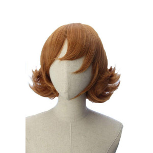 Cocoa Brown Short Flapper Bob Anime Cosplay Pidge Adult Wig Inspired by Voltron