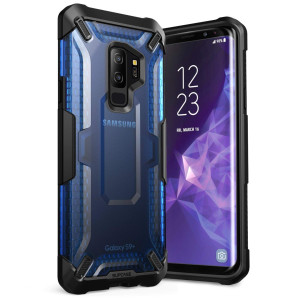 Galaxy S9+ Plus Case, SUPCASE Unicorn Beetle Series Premium Hybrid Protective Clear Case for Samsung Galaxy S9+ Plus 2018 Release, Retail Package (Frost/Blue)