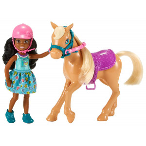Barbie Club Chelsea Dolls and Horse