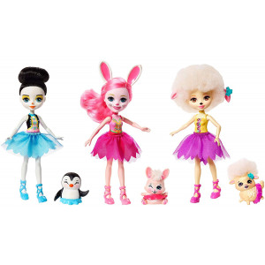 Enchantimals Ballet Cuties Doll 3-pack